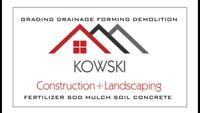 Sod removal and installation service