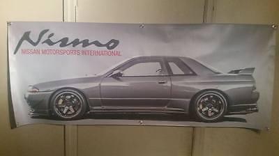 Nismo Nissan R32 Skyline Banner 2'x5'