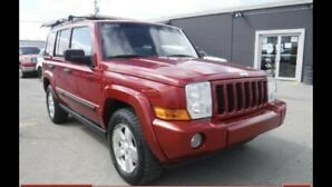 2006 Jeep Commander 7 passenger only $4999