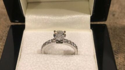 Charles Rose Diamond Engagement Ring