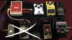 Pedals,  Amp & board Halifax NS