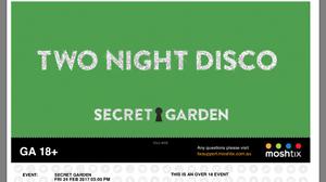 secret garden ticket Peakhurst Hurstville Area Preview