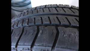 Selling Four P185/65R14 all season tires in great condition!
