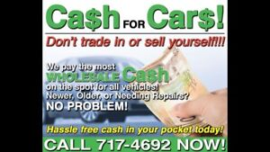 $$TOP CASH PAID FOR ALL VEHICLES$$