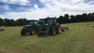 Custom haying
