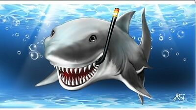 Shark Smiling / Sun Rays 30
