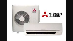 Mitsubishi split system air conditioner heating 8.1kw cooling 7.2kw West Lakes Shore Charles Sturt Area Preview
