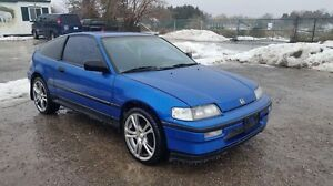 1989 crx si with B16A1 ZERO RUST!