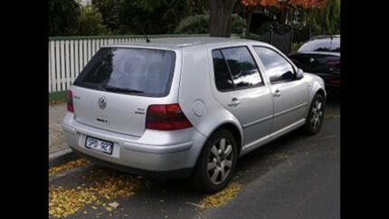 Wanted GOLF MK4 Sport  Tuart Hill Stirling Area Preview