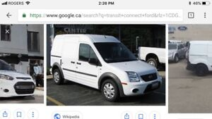 Wanted Ford Transit Connect