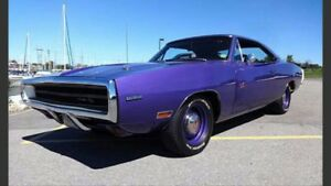 WANTED: 1968-1970 Charger R/T project wanted