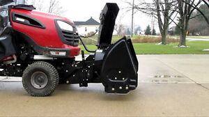 Wanted snowblower for Craftsman tractor