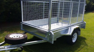 New galvanised box trailer + cage - located in Katherine NT Finniss Area Preview