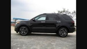 2013 Ford Explorer with extended warranty