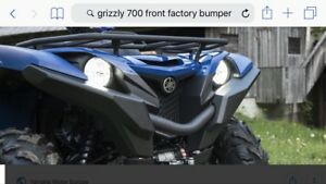 Yamaha grizzly front bumper plastic covers