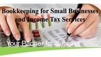 Small Business Bookkeeping and Income Tax Services