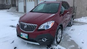 2015 Buick Encore AWD has only 63000 km