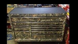 New camo snap on tool box