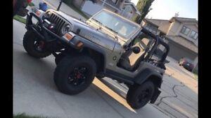 Jeep tj rubicon 2006 *PRICE REDUCED*