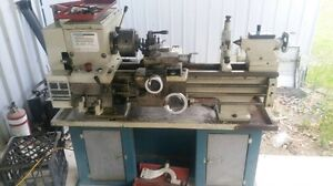 Hafco al300 metal lathe with stand and tooling North Maclean Logan Area Preview