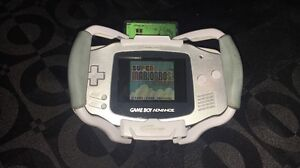 Gameboy Advance Silver Handheld Console Prospect Prospect Area Preview