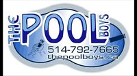 Swimming pool opening west island the pool boys