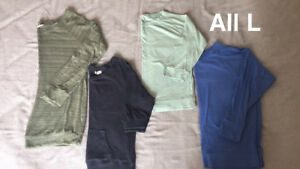 Lot of 4 sweaters