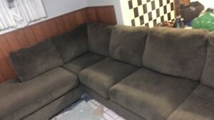 Used L shaped couch