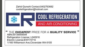 Fridge and Air-Con Repairer Domestic/Commercial Cloverdale Belmont Area Preview