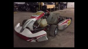 Awesome running Go Cart