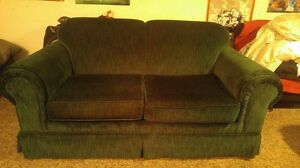 Forest Green Love Seat for Sale