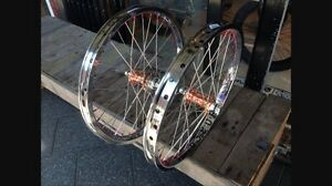 Profile Hubs laced to G Sport Birdcage rims