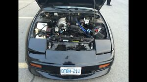 240SX Engine and trans, intercooler, gt2860r