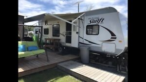 Roulotte Jayco camping Atlantide