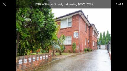 Two bedroom unit in lakemba for rent!!