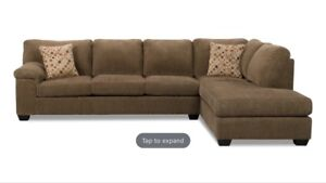 Sectional with chaise on the left