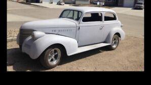 1939 Chevy sedan project car