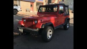 Wanted: Jeep YJ Wrangler 87-95