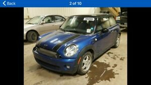 parts for sale  2007 2008 2009 2010 2011 Mini Cooper