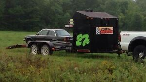 Race car hauler