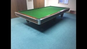 Commercial National Snooker Pool Table