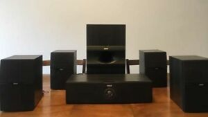 RCA 80W home theatre surround speakers. Oakfield.