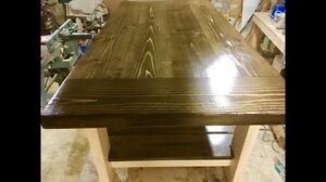 Brand new solid wood coffee tables