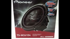 2 brand new pioneer champion series subwoofers