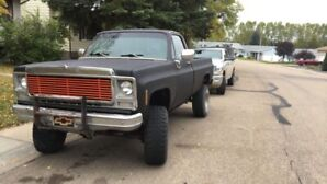 79 Chevy square body k10