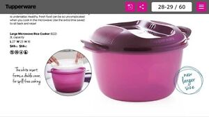 Tupperware Rice Cooker West Perth Perth City Area Preview