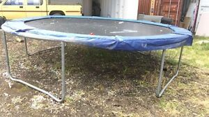 14 ft trampoline Longlea Bendigo Surrounds Preview