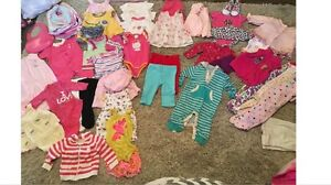 Summer Girls Lot 0-3m and 3-6m