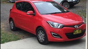 Hyundai i20, 2014 Model Manual Goulburn Goulburn City Preview
