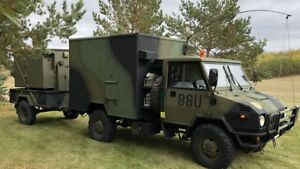 LSVW / mobile site office / army truck / military truck